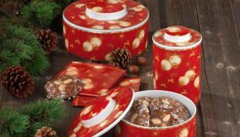 Weihnachtsdosen & -platten