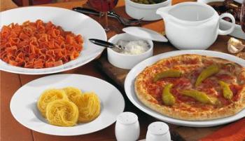 Pizza- und Pastateller