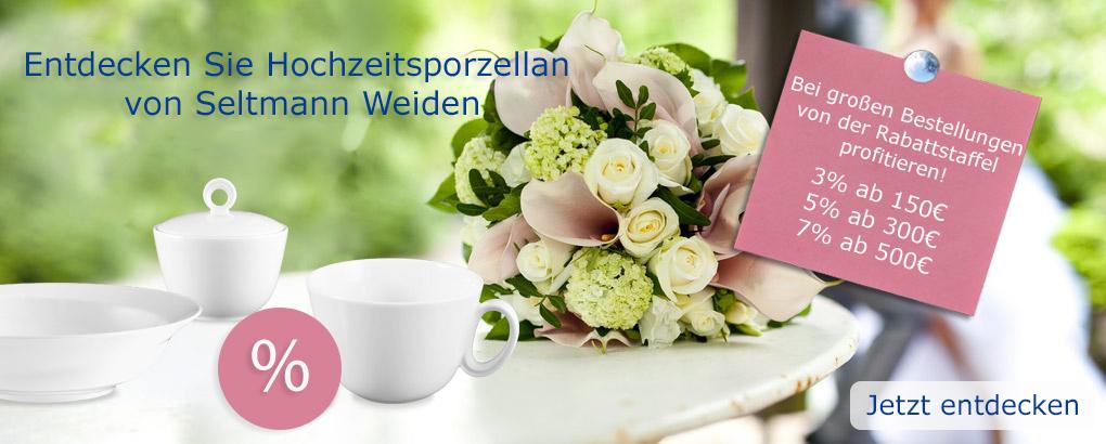 Hochzeitsporzellan Seltmann