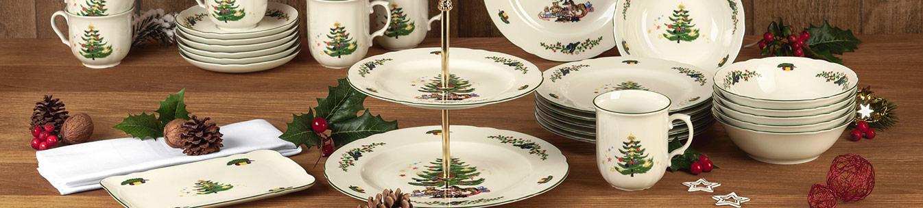 Weihnachtsdosen- & platten