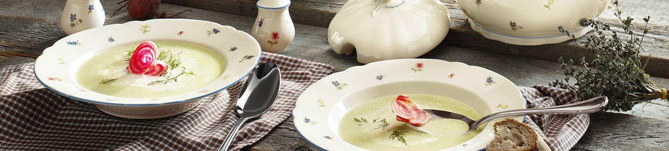 Suppenteller Landhausstil