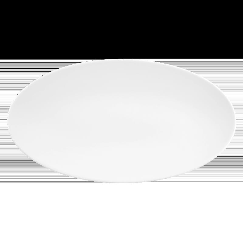Life Servierplatte oval 33x18 cm weiß
