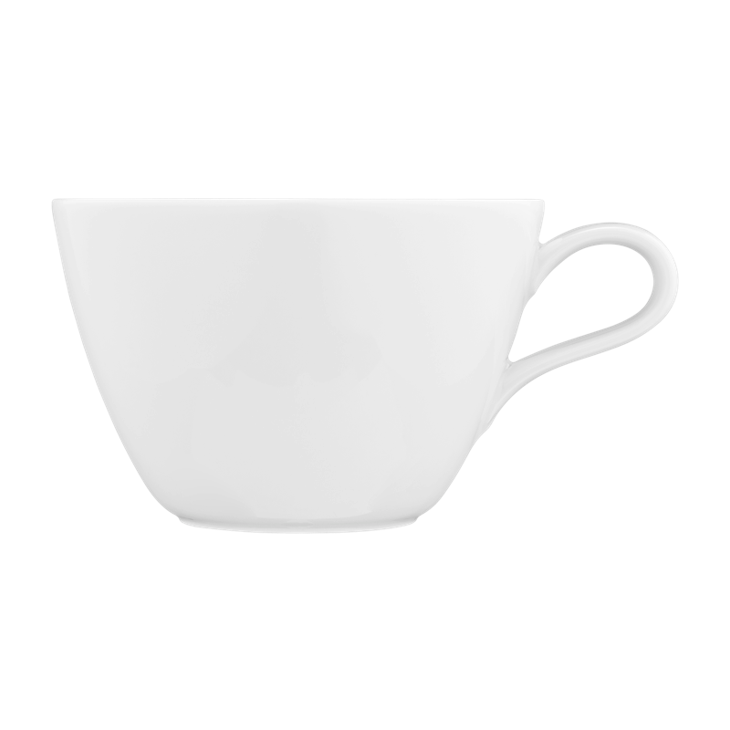 Life Milchkaffeetasse 0,37 l weiß