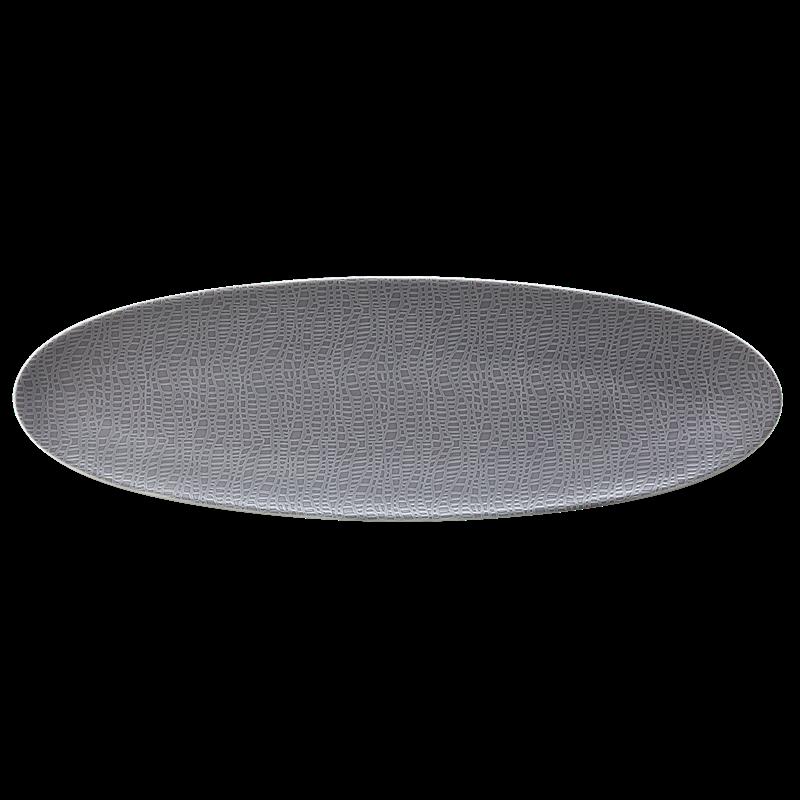 Life Servierplatte schmal 44x14 cm Fashion Elegant Grey
