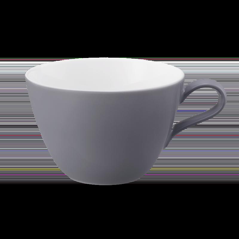 Life Milchkaffeetasse 0,37 l Fashion Elegant Grey