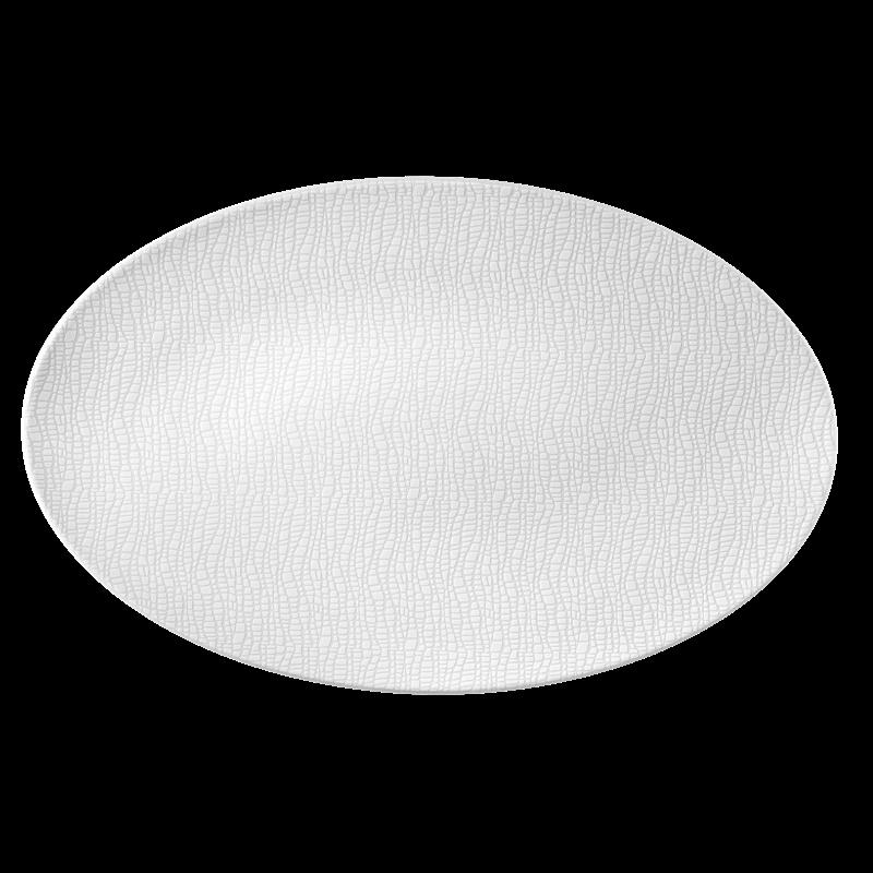 Life Servierplatte oval 40x26 cm Fashion Luxury White