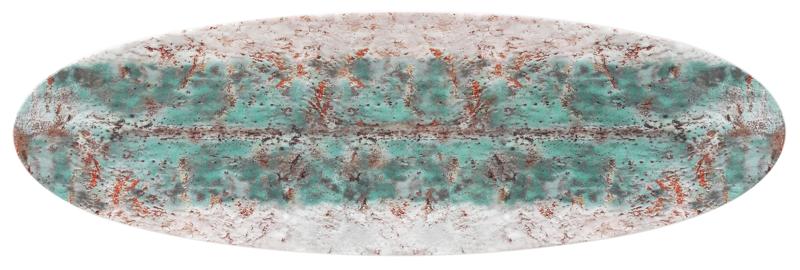 Life Servierplatte schmal 44x14 cm Diversity