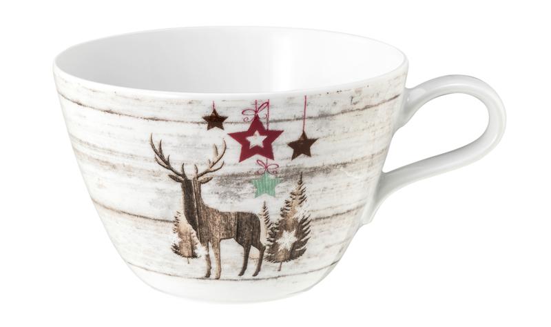 Life Milchkaffeetasse 0,37 l Christmas