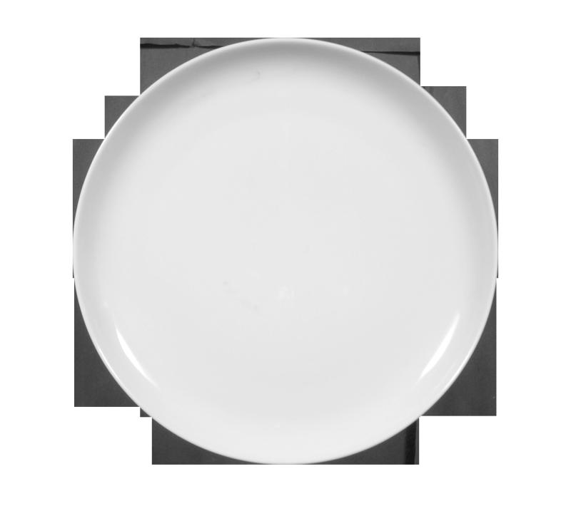 Sketch Basic Teller flach rund 20 cm weiß
