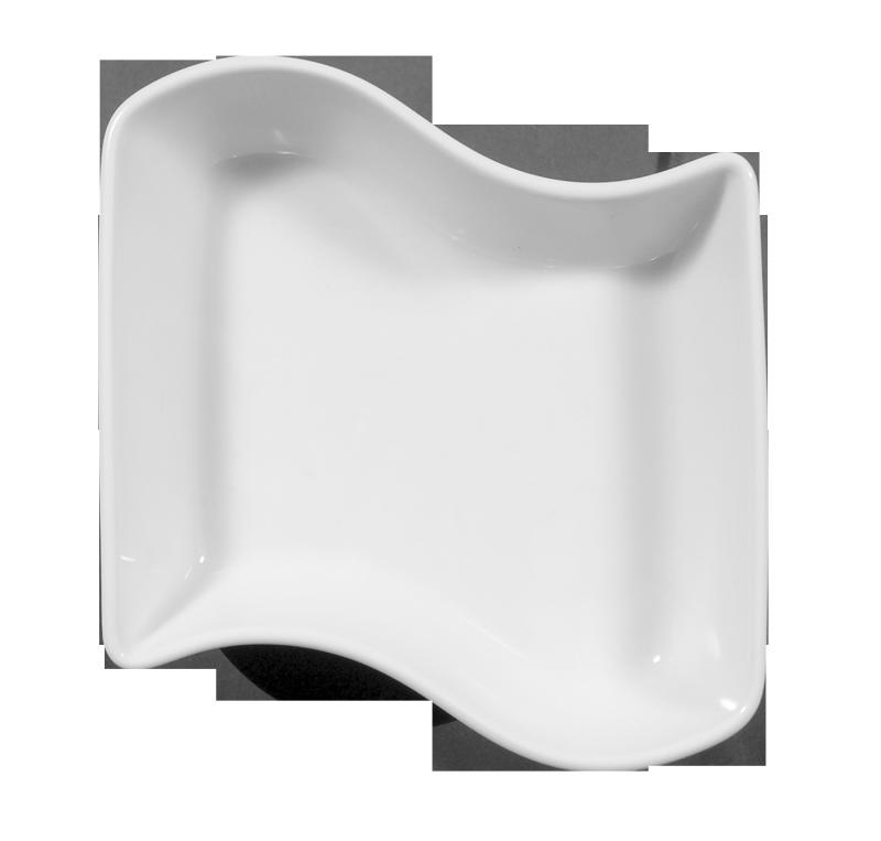 Sketch Puzzle Kabarettschale 16 cm weiß