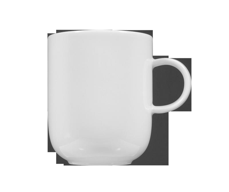 Sketch Basic Becher mit Henkel 0,25 l weiß