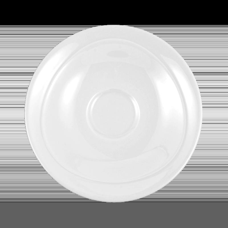 Trio Kombi-Untertasse 13 cm weiß