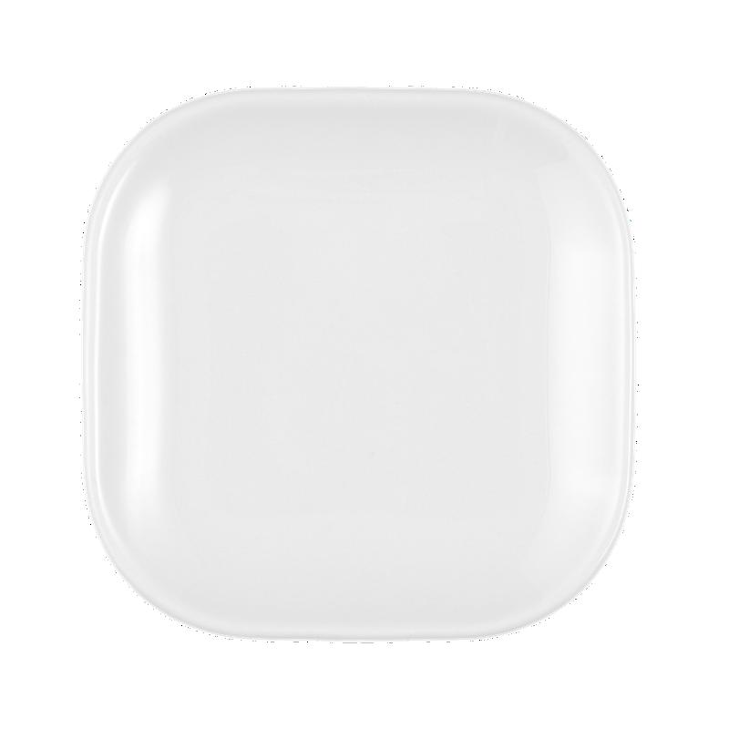 No Limits Platte eckig 12 cm x 12 cm weiß