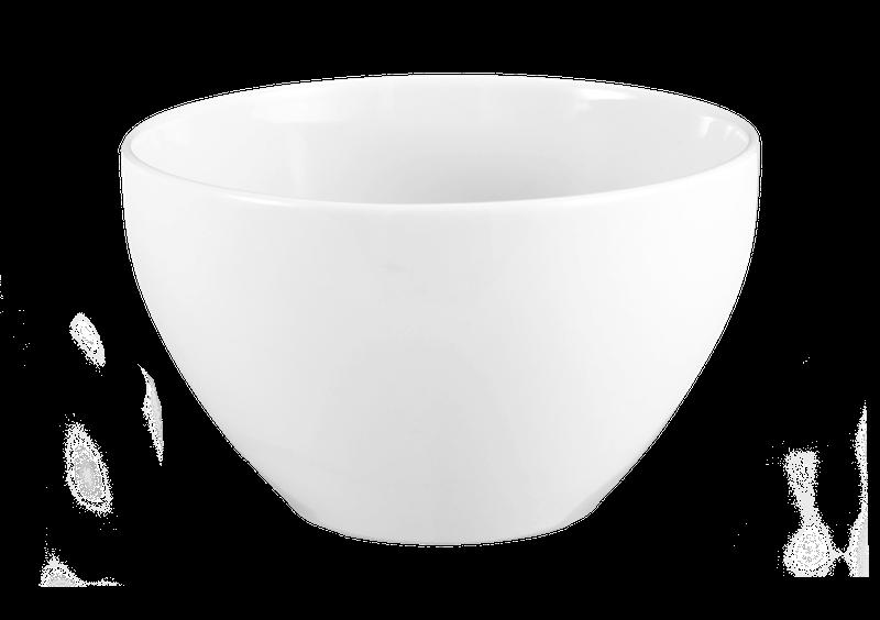 Lukullus Reisschale 10,5 cm weiß