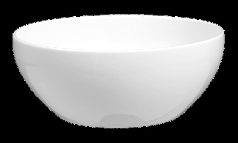 Lukullus Reisschale 13 cm weiß