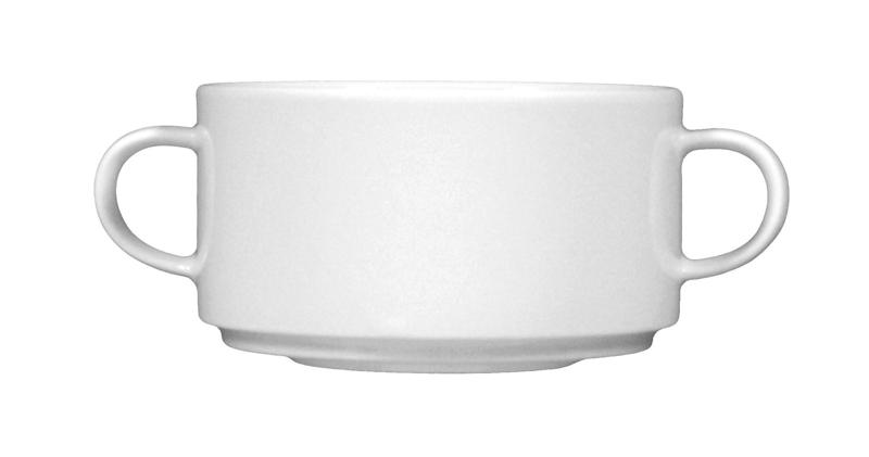 Savoy Suppentasse weiß