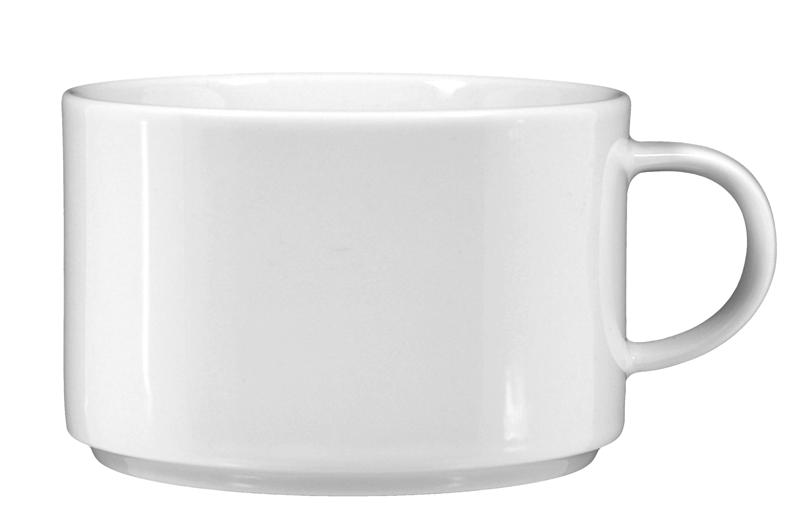 Savoy Frühstückstasse weiß