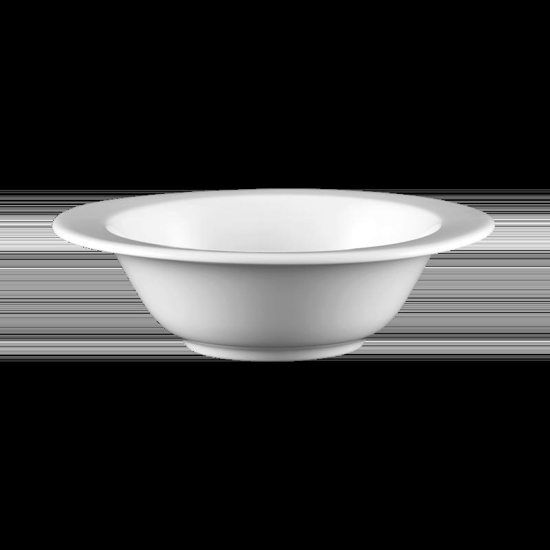 Mandarin Dessertschale oval 17 cm weiß