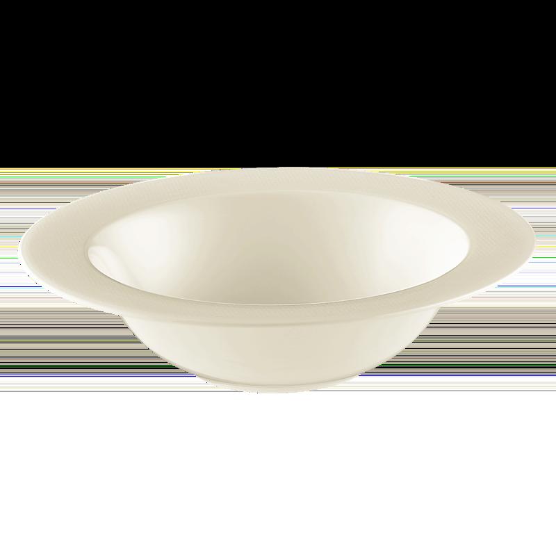 Diamant Schüssel rund 26 cm cream