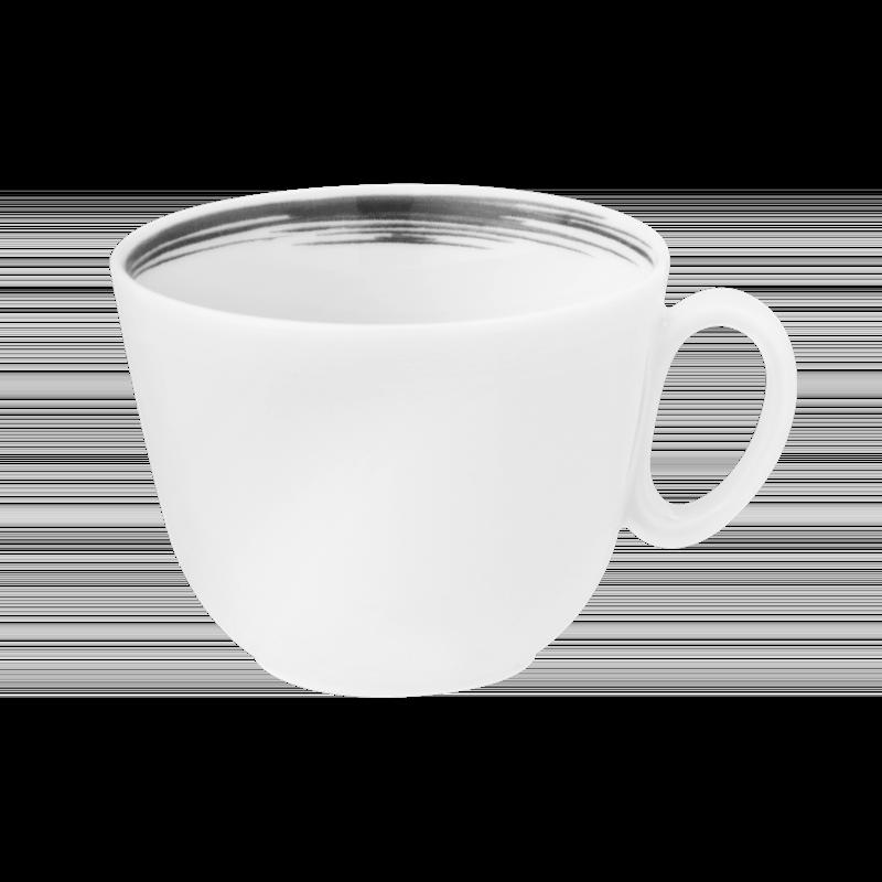 Paso Cappuccinoobertasse 0,23 l Grey Brush