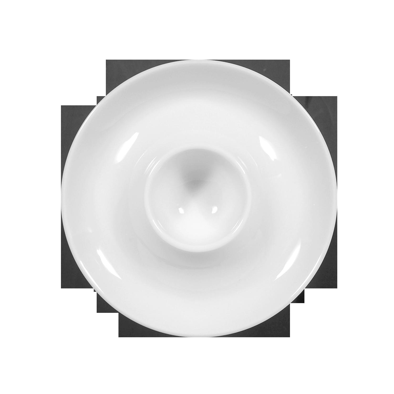Seltmann Weiden Compact Blaurand 6 Stück Eierbecher mit Ablage 10795