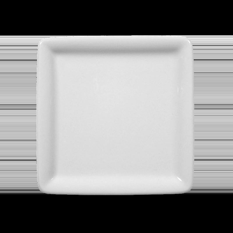 Buffet-Gourmet Platte 5170 10x10 cm weiß