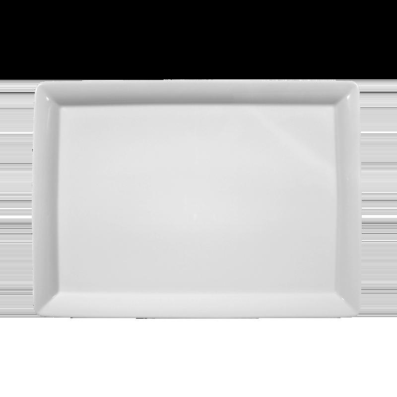 Buffet-Gourmet Platte 5140 35x25 cm weiß