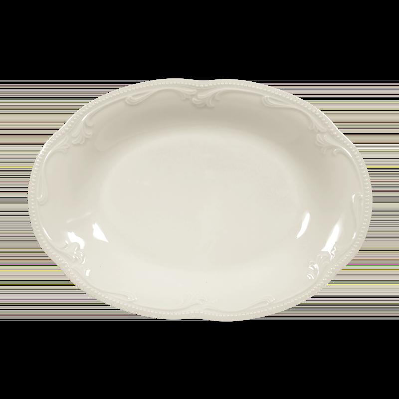 Rubin Beilagenplatte 24 cm cream