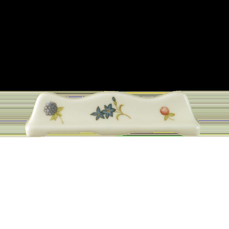 Marie-Luise Messerleger Streublume blauer Rand