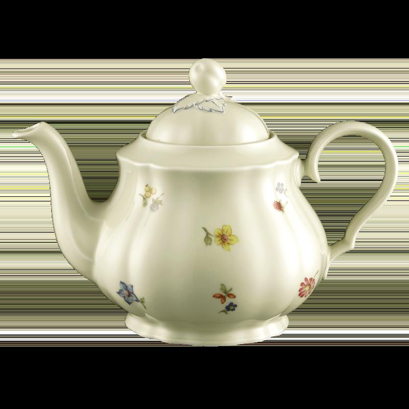 Marie-Luise Teekanne für 6 Personen Blütenmeer