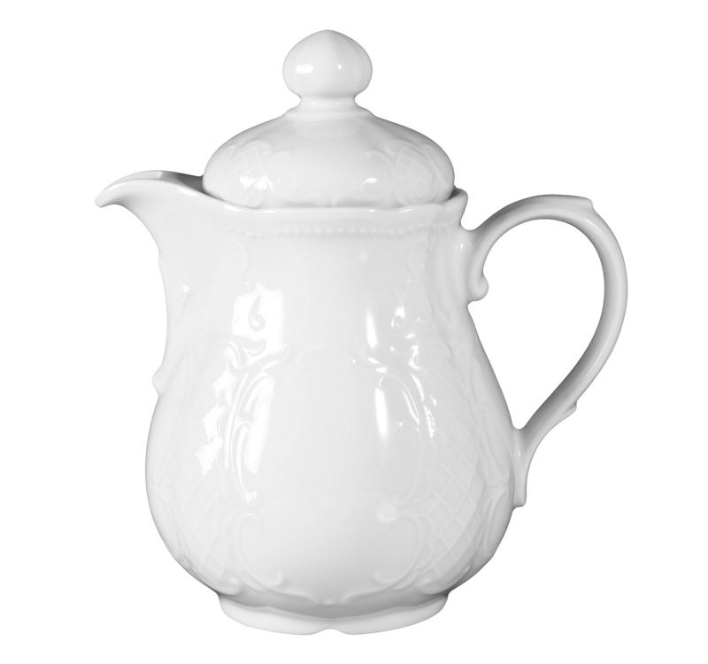 Salzburg Kaffeekanne 3 weiß