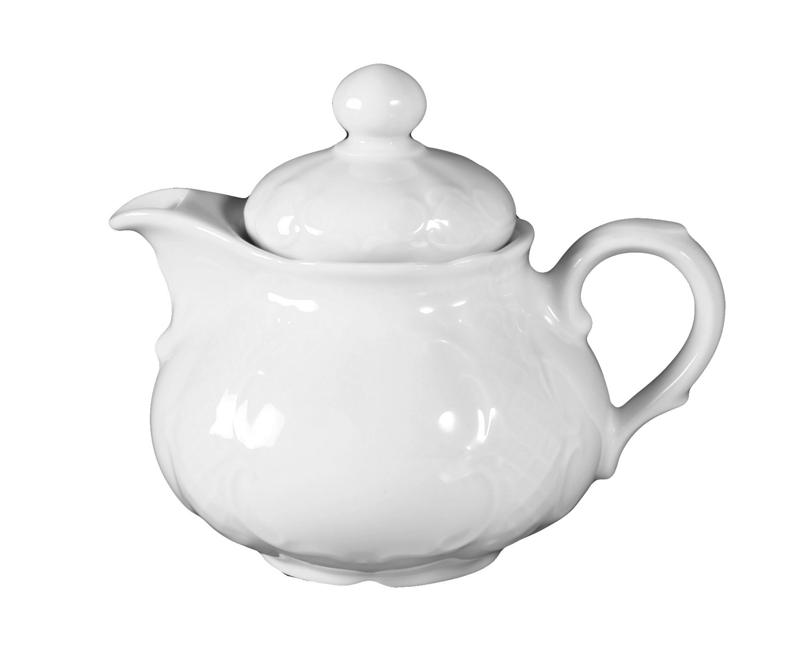 Salzburg Teekanne 1 weiß