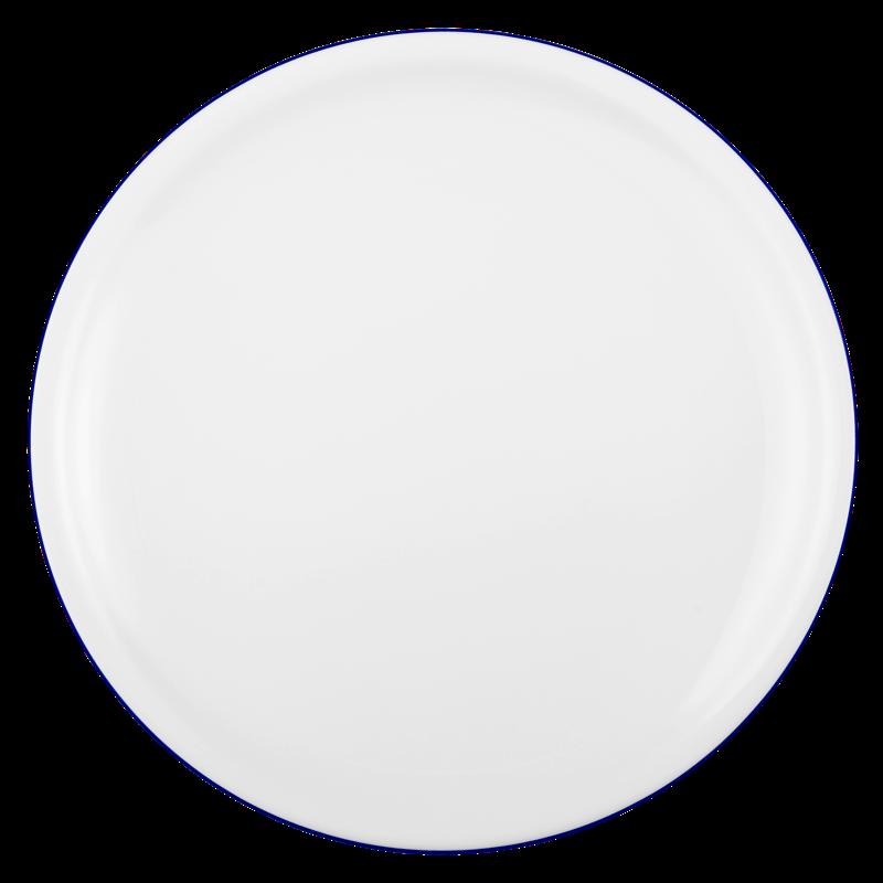 Compact Speiseteller 25 cm Blaurand