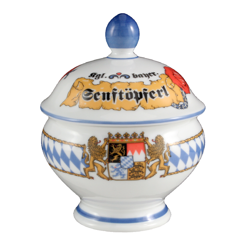 Compact Senftöpferl 0,18 l Bayern