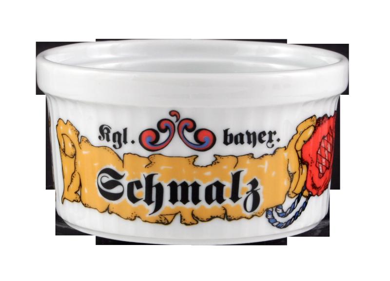 "Compact Pastetennapf ""Schmalz"" 8 cm Bayern"