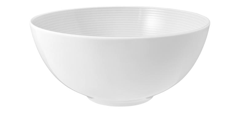 Beat Schüssel rund 21 cm weiß