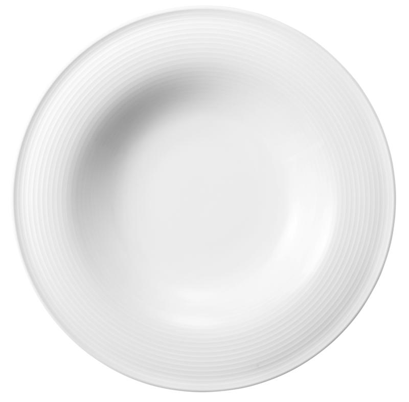 Beat Pasta-/Salatteller 27,5 cm weiß