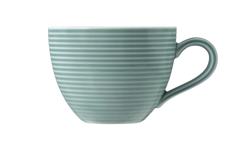 Beat Kaffeetasse 0,26 l mit Relief Glaze Arktisblau