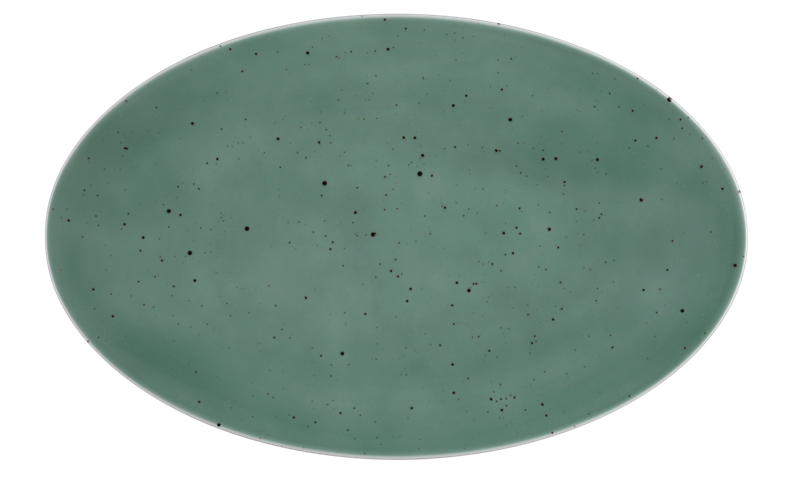 Coup Fine Dining Coupplatte 40 x 25,5 cm Country Life petrol
