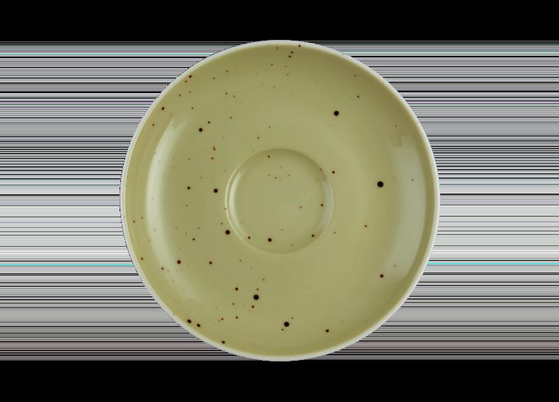 Coup Fine Dining Untertasse zur Espressotasse 12 cm Country Life oliv