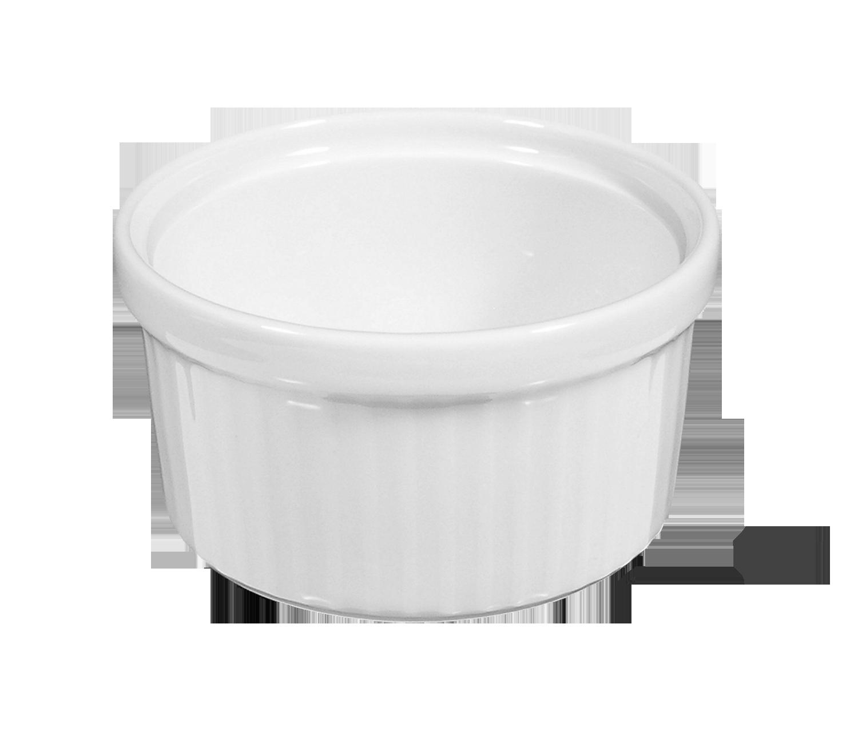 Lukullus Pastetennapf 9 cm weiß