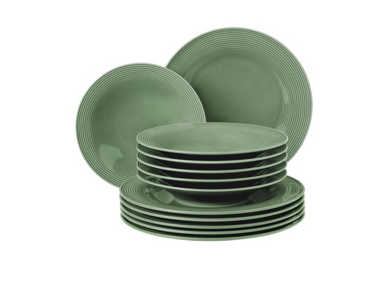 Beat Tafelservice 12-teilig BT Glaze Salbeigrün