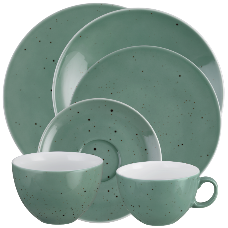 Coup Fine Dining Kombi-Set 12-teilig Country Life petrol