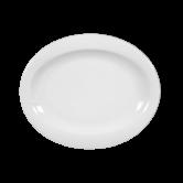 Top Life Teller oval (Brotteller) 19 cm weiß