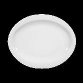 Top Life Teller oval (Frühstücksteller) 25 cm weiß