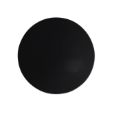 Life Suppenteller rund 20 cm Fashion Glamorous Black