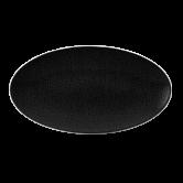 Life Servierplatte oval 33x18 cm Fashion Glamorous Black