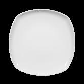 Sketch Basic Teller flach eckig 26 cm weiß