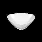 Sketch Basic Dessertschale dreieckig 15 cm weiß