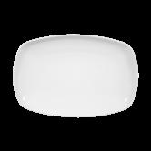 Sketch Basic Platte eckig 24 cm weiß
